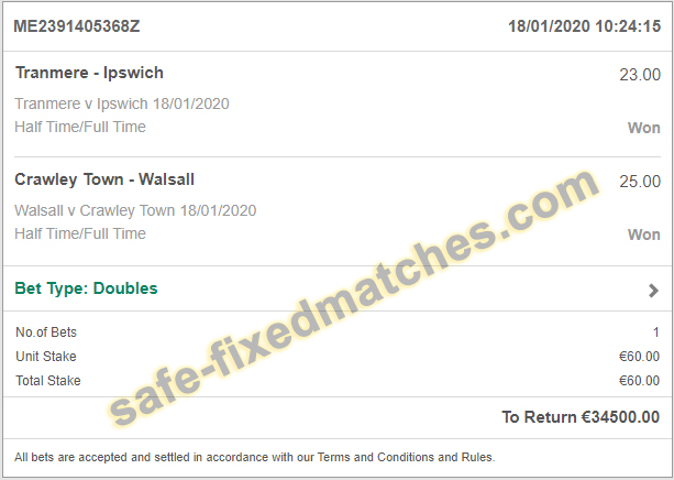where i can find real fixed matches