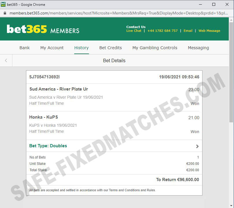 safe ht-ft fixed matches 100%